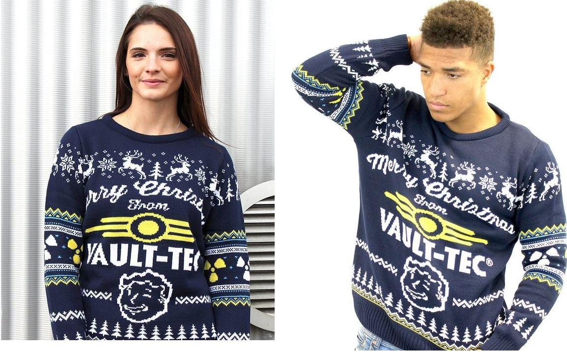 Vault Tec Christmas Sweater.Pete Hines On Twitter Have You Seen This Vault Tec