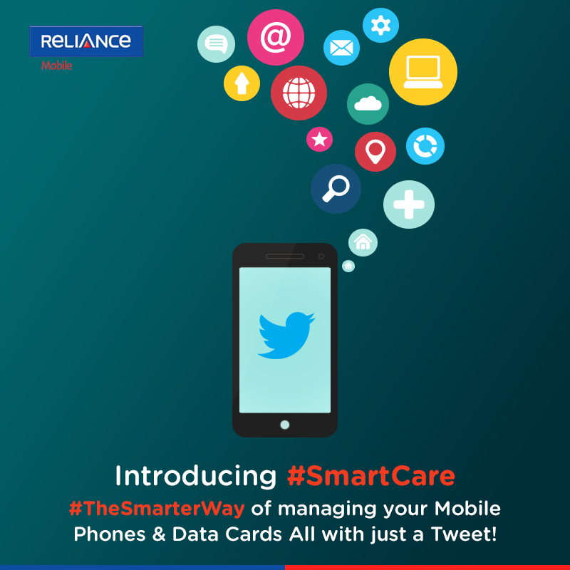 We are proud to launch #SmartCare, India's first telecom customer care on Twitter! http://t.co/RxE5aMtbEg http://t.co/43OJiXV99K