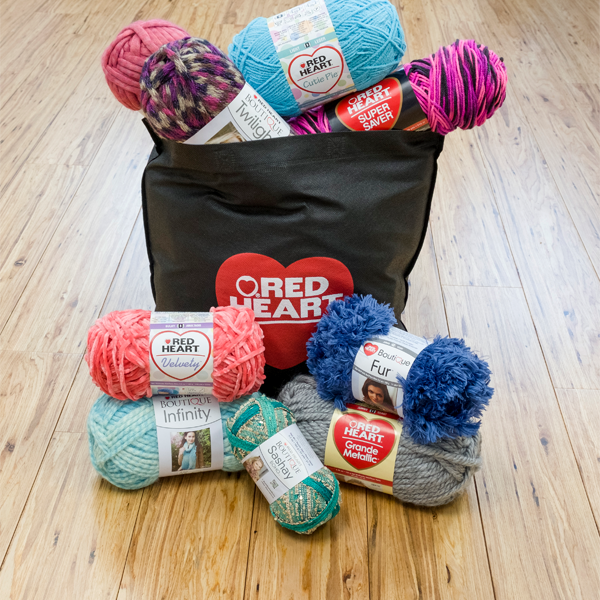 For @ILoveYarnDay, we're giving away this @RedHeartYarns stash, valued at $50. RT for a chance to win. http://t.co/9oADdqewus