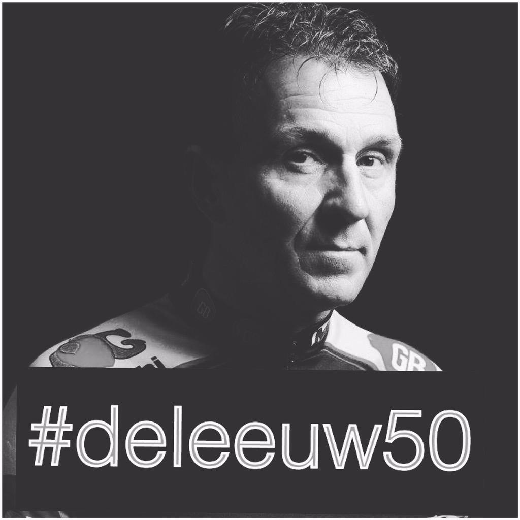Tomorrow #johanmuseeuw turns 50, can you help making this #deleeuw50 trend? #please #cycling  #giveityourall http://t.co/MuBWTBIoBE