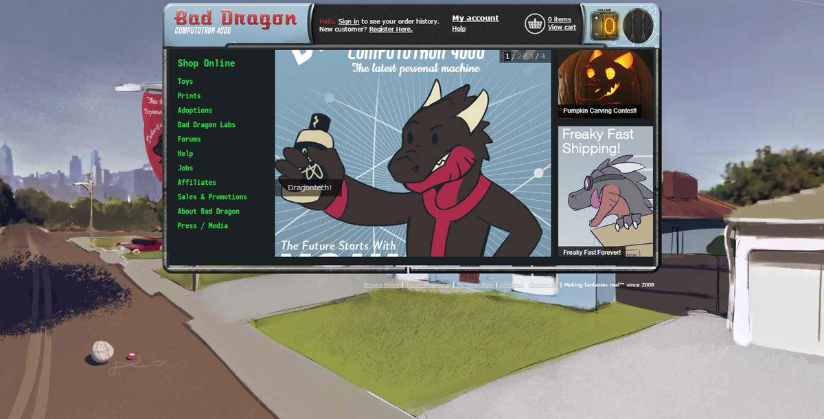bad dragon shop