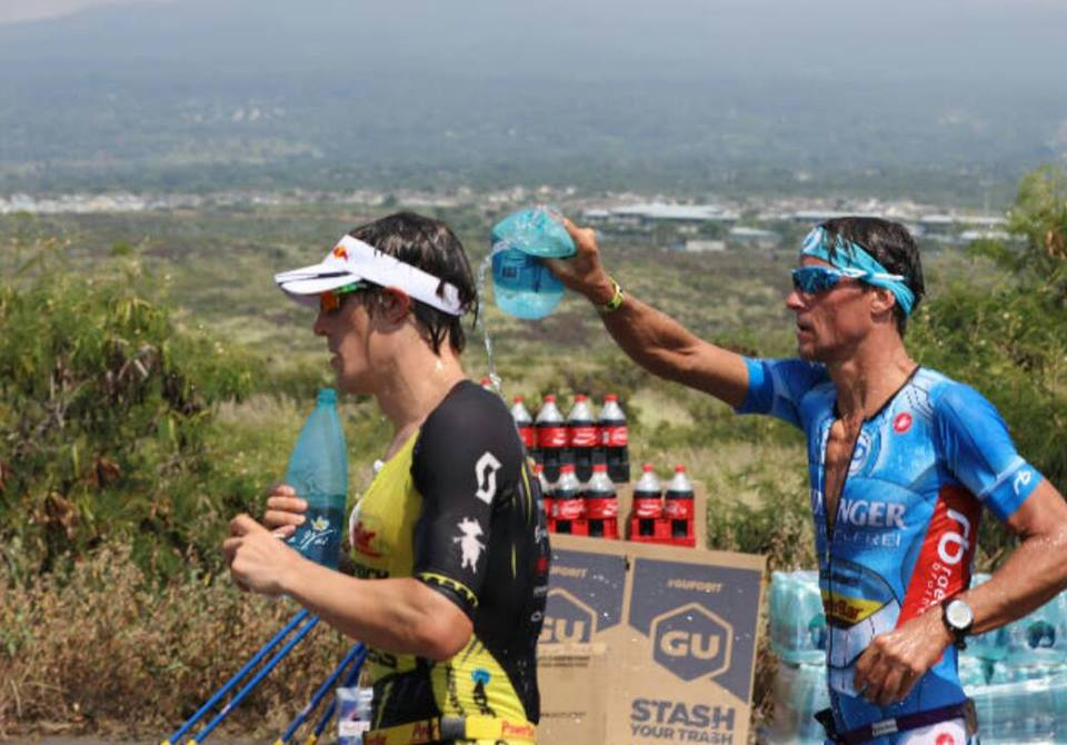 Two of the greatest athletes in our sport @SebastianKienle @raelertbrothers #IMKona #Survival #MateShip #Community http://t.co/xSaCHFJ68M