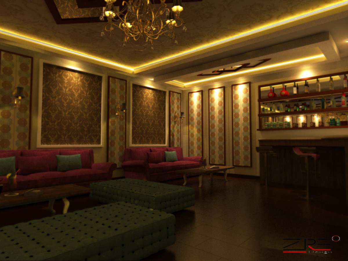 Hunzinterior design on twitter classic luxury karaoke for Karaoke room design ideas