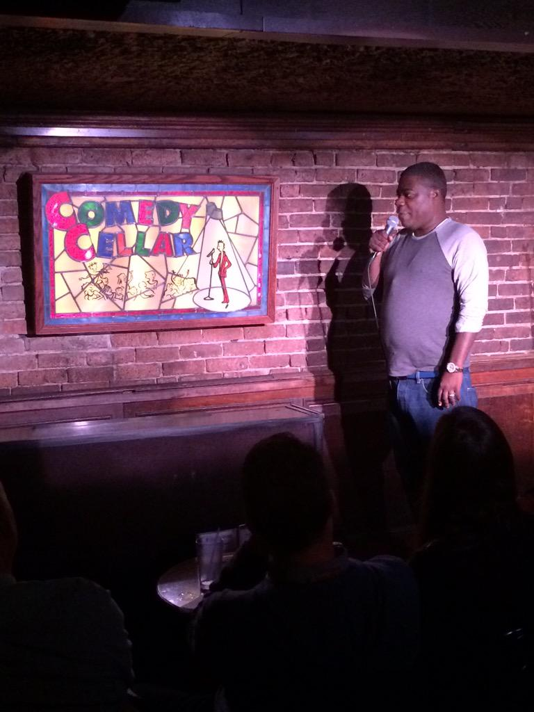 My first time on stage in 16 Months at the #ComedyCellar! Picking up the pieces! http://t.co/T2uD2Zndot
