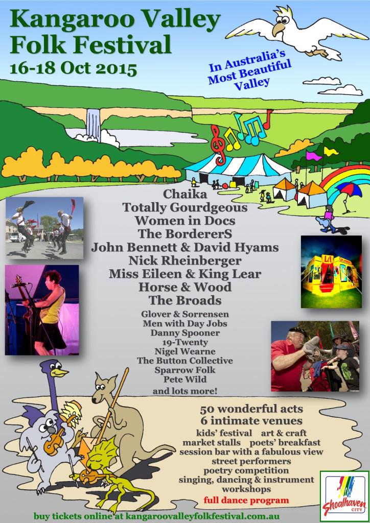 Did you know that the Kangaroo Valley Folk Festival is on this weekend? http://t.co/jZNbgv6VV2
