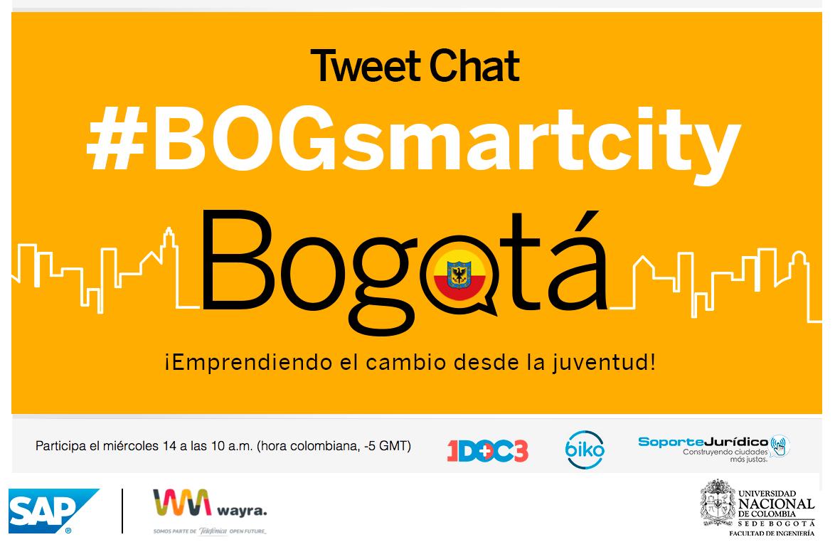 ¿En sus planes de gobierno tienen convertir a Bogotá en una ciudad Inteligente? ¿Cómo? #BogotaPregunta #BOGsmartcity http://t.co/0Ec5sPensp
