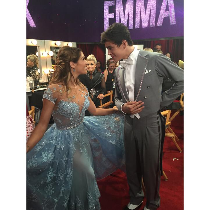 My Prince Charming @HayesGrier so proud of you http://t.co/vgVzqO3qpo