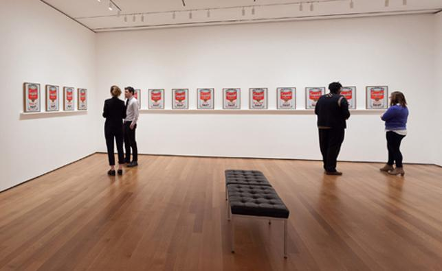 "RT @MuseumModernArt: This week: see Warhol's ""Soup Cans"" as they were 1st displayed, Chaplin screens, & more. http://t.co/QqhYGTvipj http:/…"