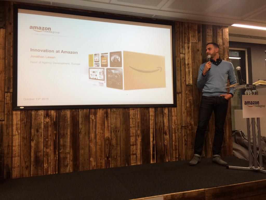 RT @KetanLad: Keynote for the @AmazonUK takeover @HavasMediaUK leading with innovation in product/service diversification http://t.co/6Orh5…