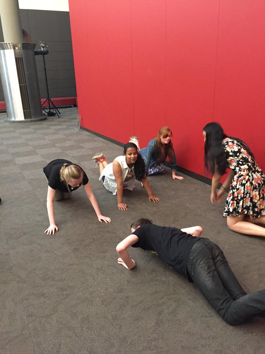 The #inkyawards judges are comparing push up techniques. http://t.co/9H1xXoPvbM