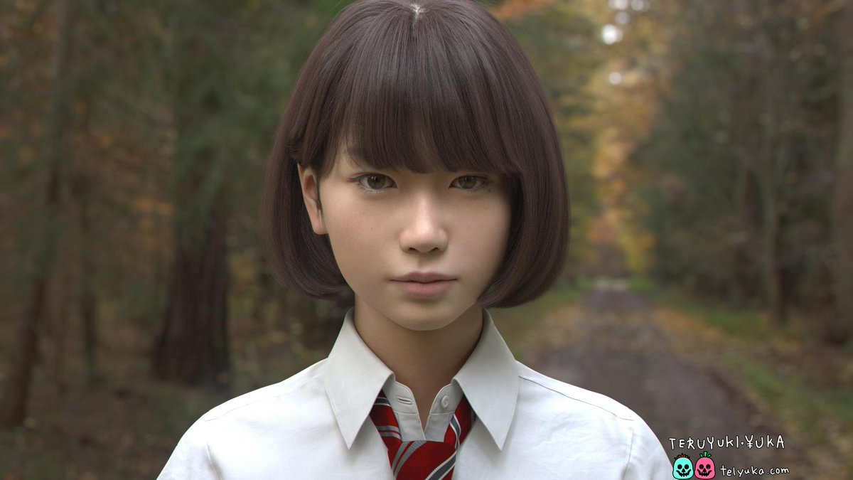 Watch hyper-realistic Japanese CGI schoolgirl move for the first time