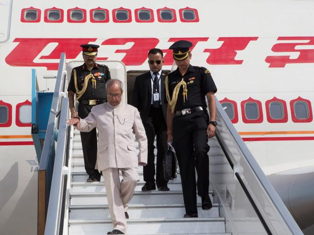 #President of #India #Pranab Mukherjee's state visit to #Israel begins from today as he landed at Ben-Gurion Airport http://t.co/tluOAEbeL8