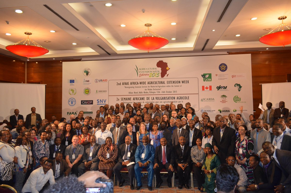 second Africa Wide Agricultural Extension Week Reinvigorating Extension Services for Market-led Agriculture malabo declaration
