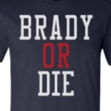 A Tom Brady T-Shirt