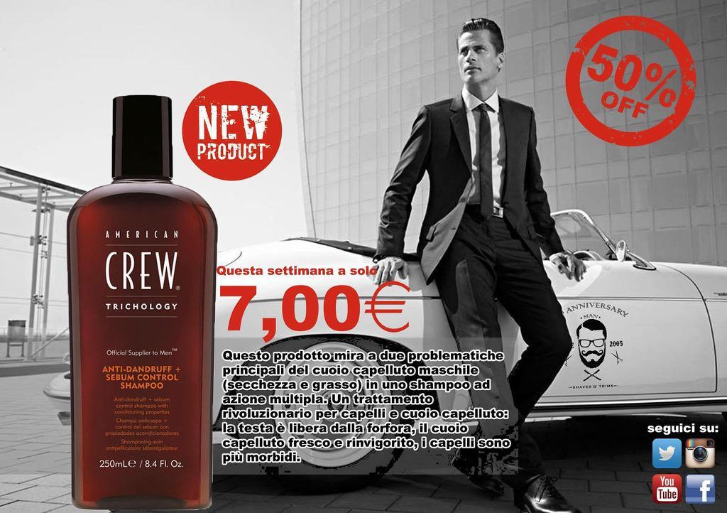 Americancrew Thricology Anti-dandruff sebum control shampoo è il protafonista della promo settimanale Info:0583926424 pic.twitter.com/DXJhmxSC12