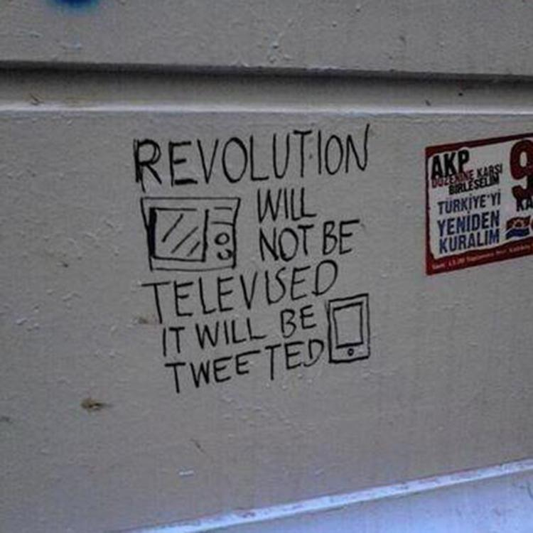 The revolution will be Tweeted #GiveTwitterASlogan http://t.co/rIae5pJ7ut