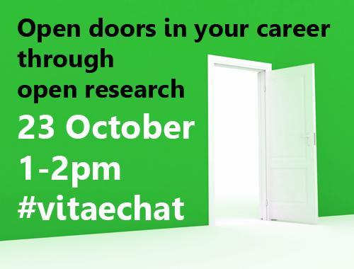 Thumbnail for Open doors in your career through open research #vitaechat