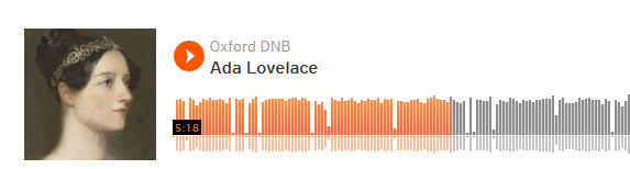 Spend 15 minutes this lunchtime with #Ada Lovelace on #AdaLovelaceDay via @odnb http://t.co/w5K52Dqk9p #histsci http://t.co/8Bwsds3PVx