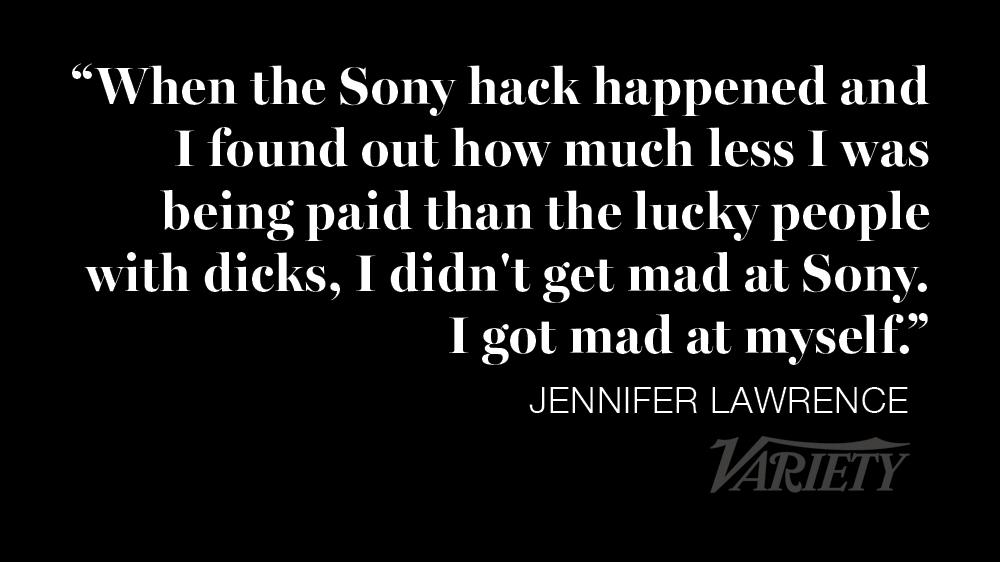 RT @Variety: Jennifer Lawrence on revelation that she was paid less than #AmericanHustle male co-stars http://t.co/Qd7dXR4ma6 http://t.co/G…