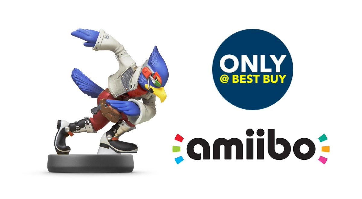 Attention @NintendoAmerica #amiibo fans: You can pre-order #Falco today, only at @BestBuy: https://t.co/BrG206XcBs http://t.co/nM2Nvz46hu
