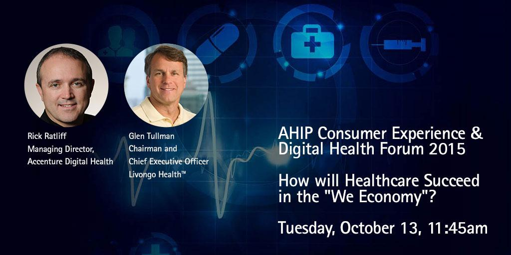 Join @Livongo and @AccentureHealth to learn what's ahead for #HealthcareIT. #AHIPdigital http://t.co/QjfxzSWWS9