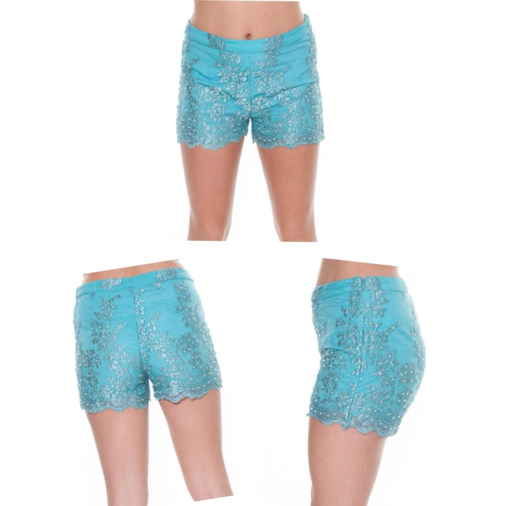LOVE these @BellaSorella251  Embellished Teal Shorts  Was £55 Now £30  Be quick> http://t.co/rpy6xh5eyY  Worldwide http://t.co/pN2JuPlvmo
