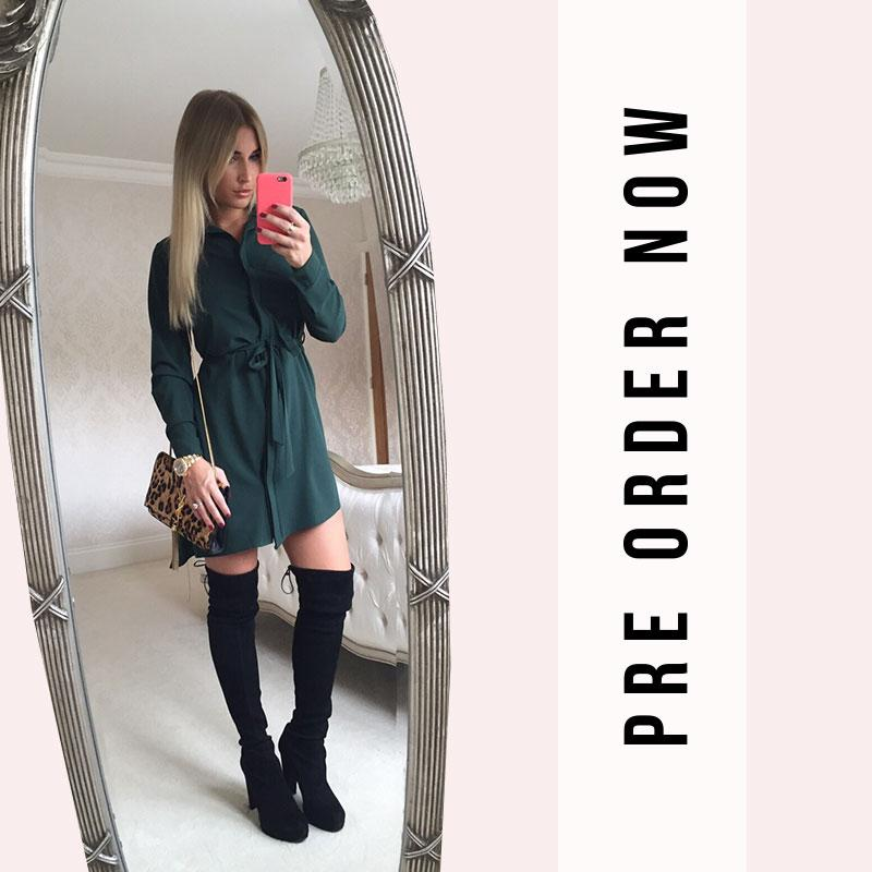 Pre order our racing green shirt dress now http://t.co/kEyGOfifPB http://t.co/Hng2riHeAg