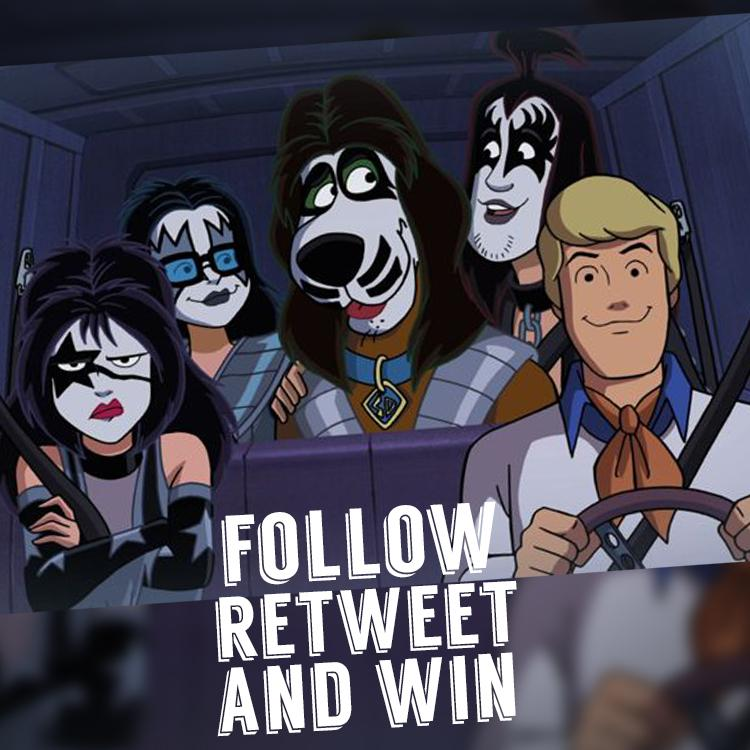 Scooby Doo meets KISS in this spooky Halloween adventure! Follow @littlechefcouk & RT for your chance to win a DVD! http://t.co/u4fNBiKShD
