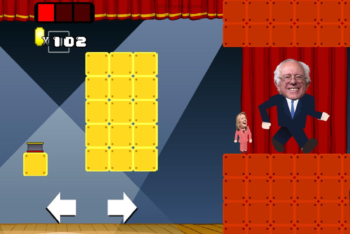 Play Hillary Debate Land at hillarydebateland.com
