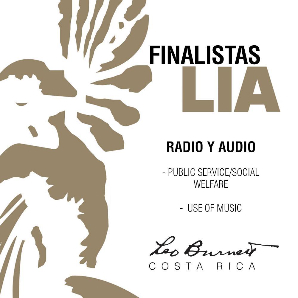 ¡Este año nos sigue llenando de alegrías! dos finalistas en London International Awards Bien #LeoBurnettCr #LIAAwards http://t.co/54gxaSYj7E