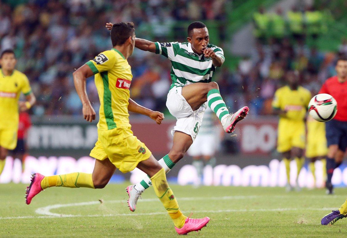 Gelson Martins marcou o 2.º golo na vitória da Selecção #Sub21 por 0-4 sobre a Grécia. Parabéns, 'leão'! #FormaçãoSCP