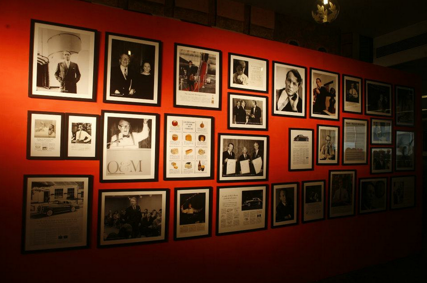 Gallery wall filled with #Ogilvyisms in the O&M Mumbai office #TravelTuesday http://t.co/J0i9vVOnS5