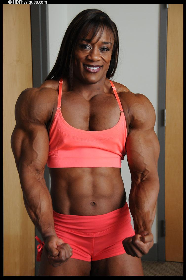 Girl with big pecs - 4 6