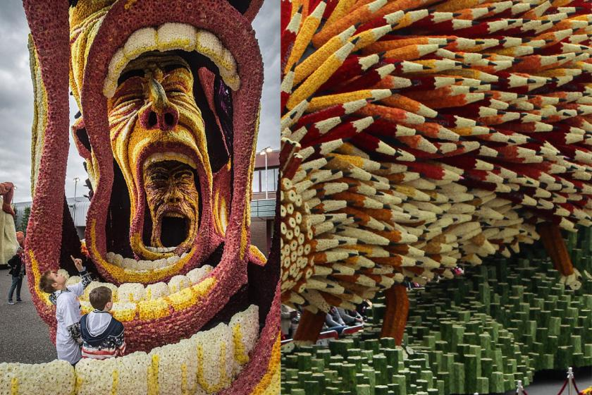 RT @Creative_Boom: A Netherlands parade celebrates Vincent van Gogh with giant floats made of flowers http://t.co/NVWROAJHpM http://t.co/zk…
