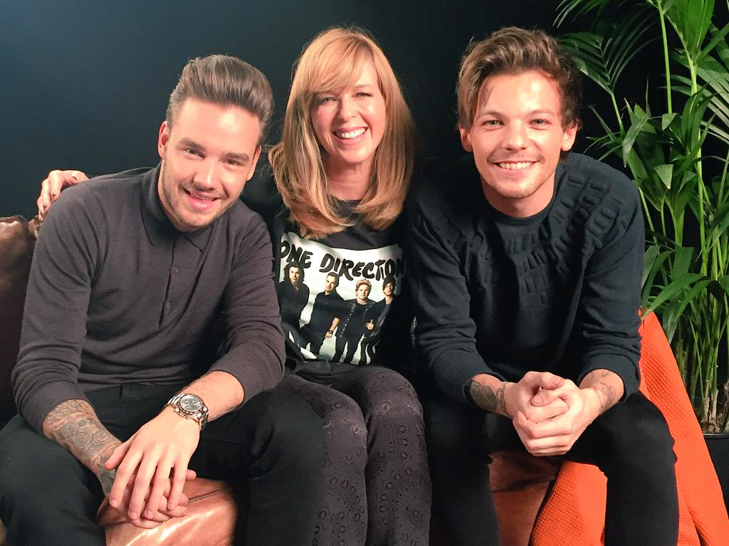 The fab @Louis_Tomlinson & @Real_Liam_Payne play me @onedirection's new single out fri. Hear it 1st on @GMB from 7am http://t.co/2tyE9lPunJ