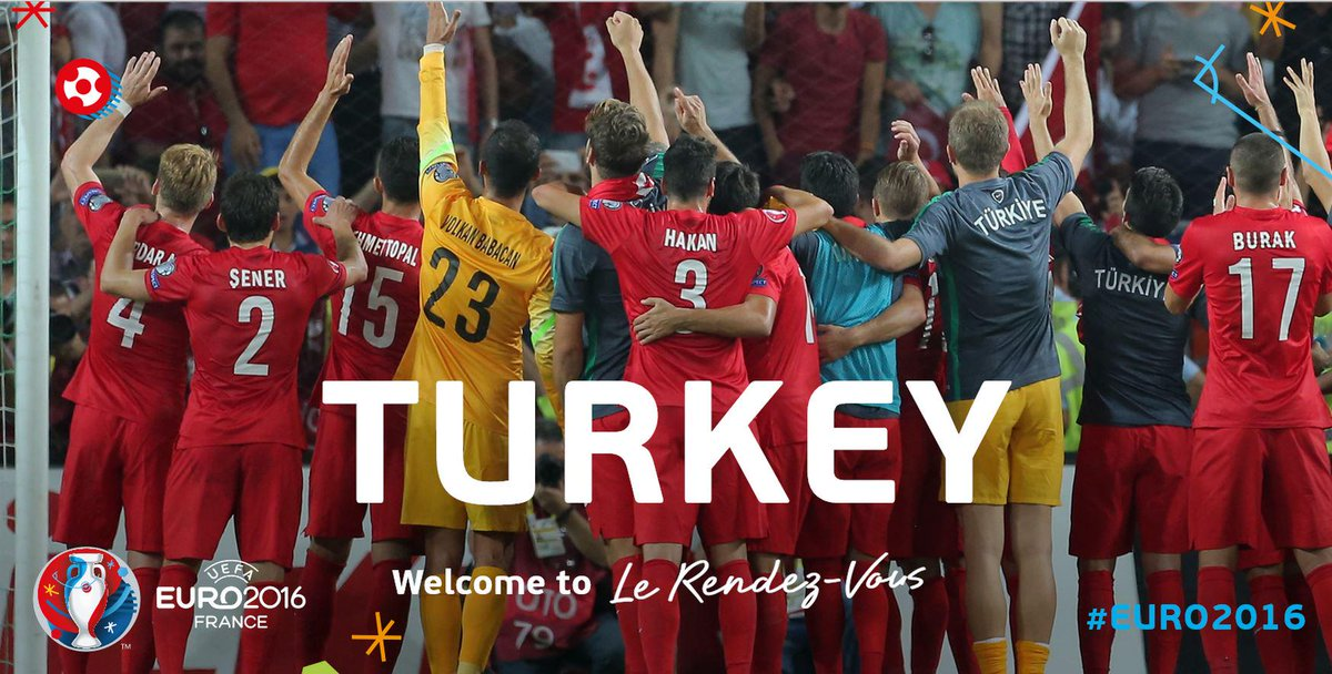 A fantastic finish! See you at #EURO2016, Turkey! Welcome to #LeRendezVous...