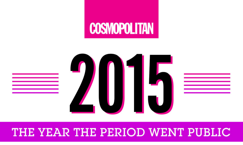 Ladies, you're experiencing history! Here are the times the period SLAYED 2015: http://t.co/bkCCNmfH4E #TamponsForAll http://t.co/981WOkQxU1