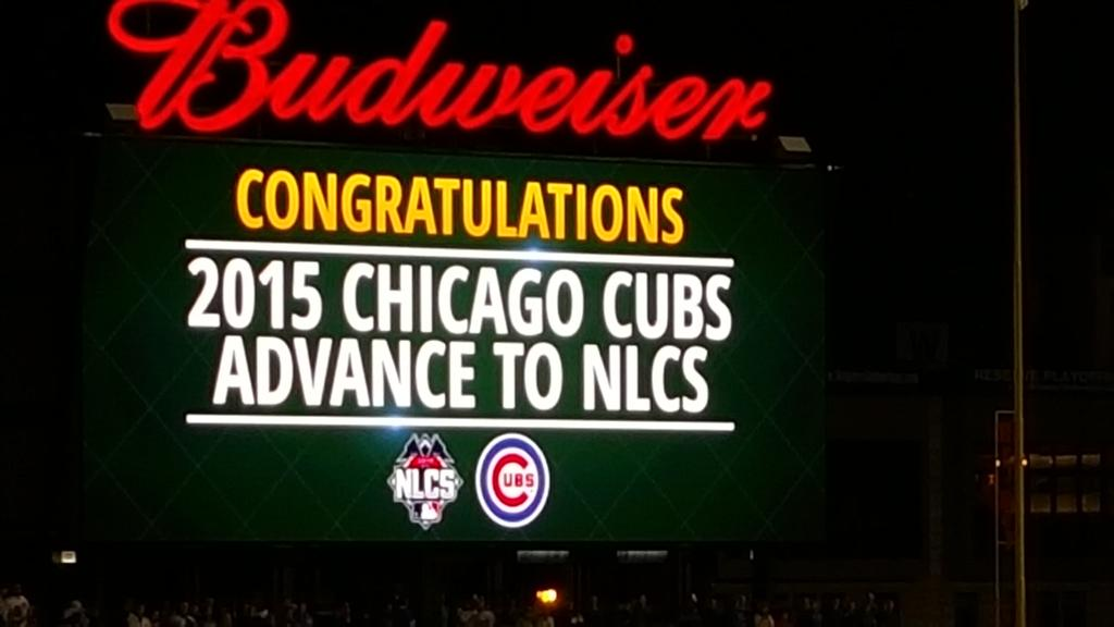 Next game: Saturday #Cubs #FlytheW http://t.co/u6zTqMH7Rr