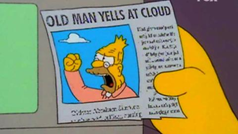 Jim Webb is probably tired of waiting another 10 minutes to yell at a cloud. #demdebate http://t.co/clUcFNSq56