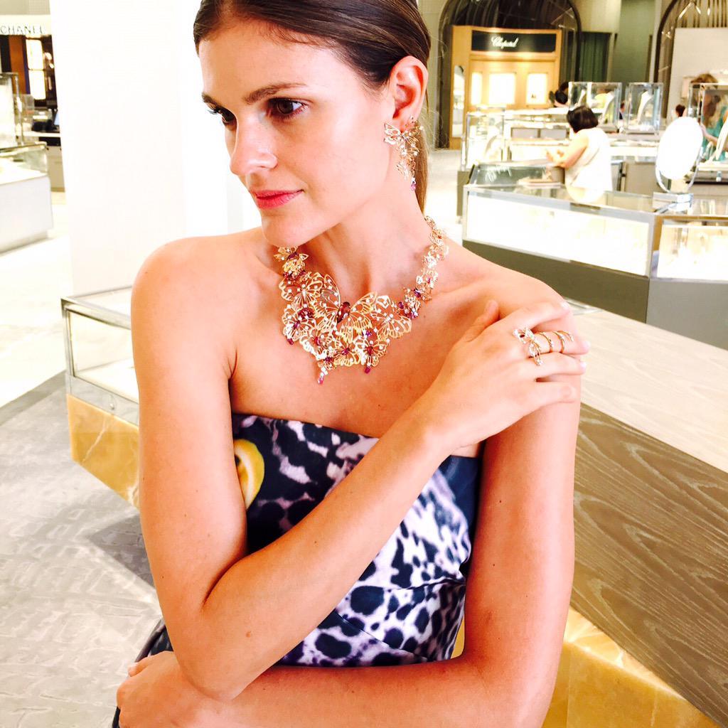 Beautiful @Staurinofratell jewelry at NM Beverly Hills, as we celebrate the Italian Jewelry Masters. #NMmadsinitaly http://t.co/jfJrGQasza
