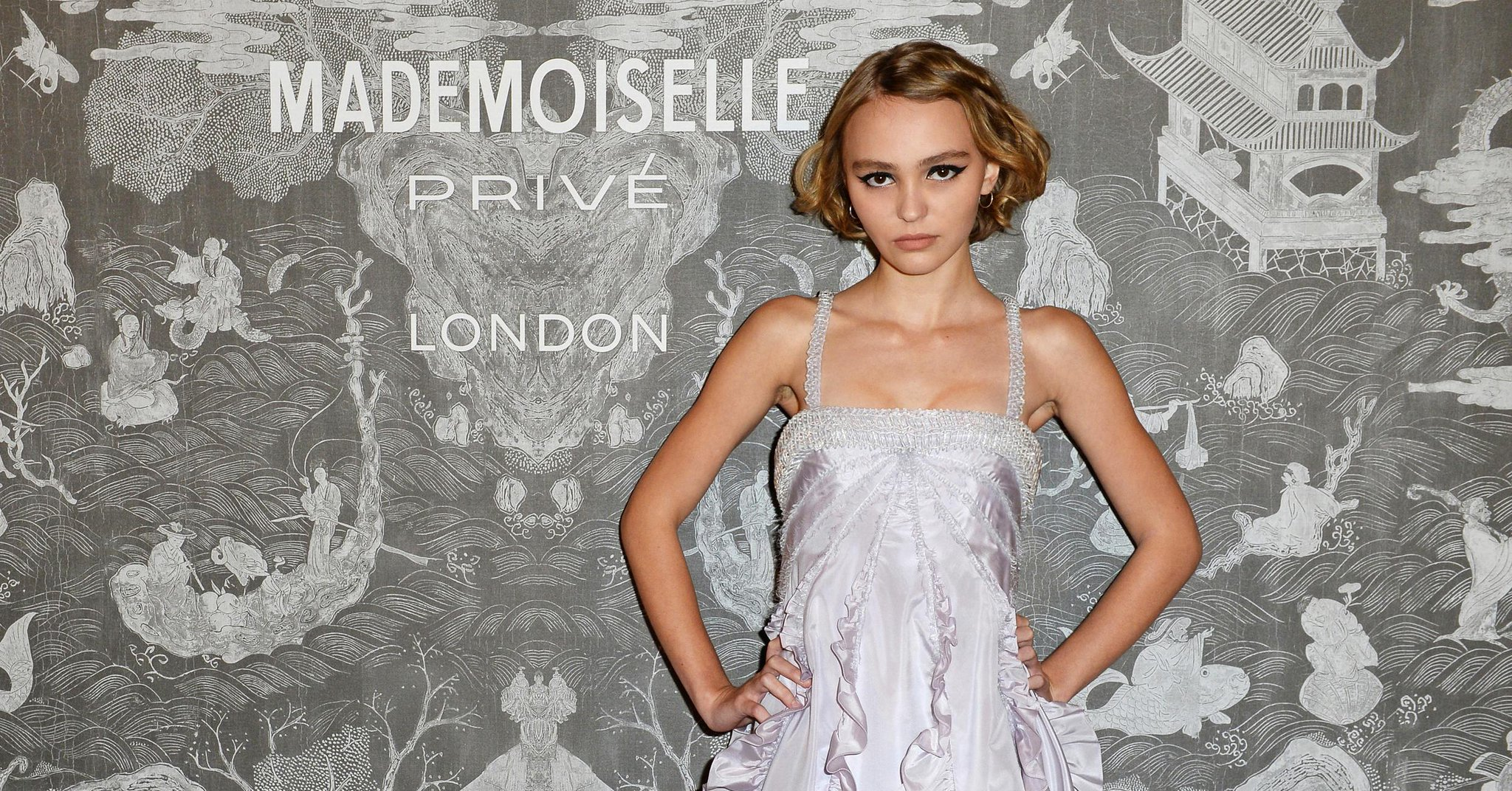 Lily-Rose Depp Shows How Fashion Girls Do #Homecoming Dresses: http://t.co/DMP1N57JX3 http://t.co/mbmt2Lfgeq