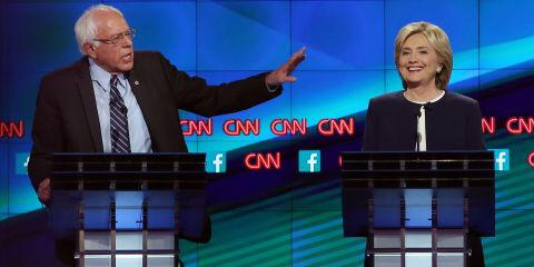 ".@SenSanders & @HillaryClinton bond over those ""damn emails"": http://t.co/TvNjZj9V7u #DemDebate http://t.co/WcpXz7IkQN"