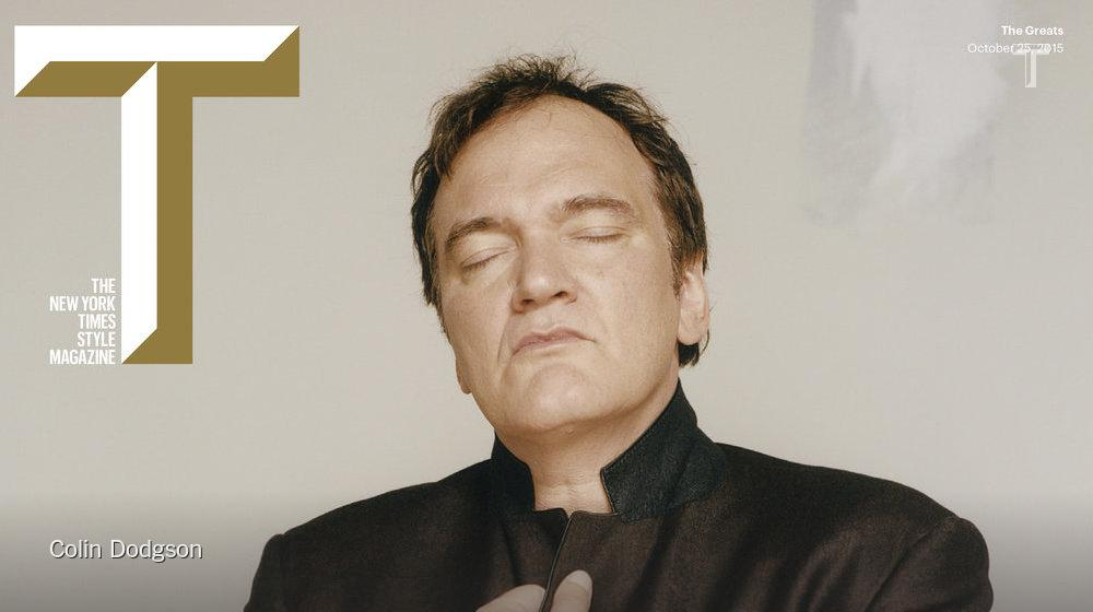"""""""If people don't like my movies, they don't like my movies,"""" and more from Quentin Tarantino http://t.co/v1K0BKAQW8 http://t.co/hbWccBOeYJ"""