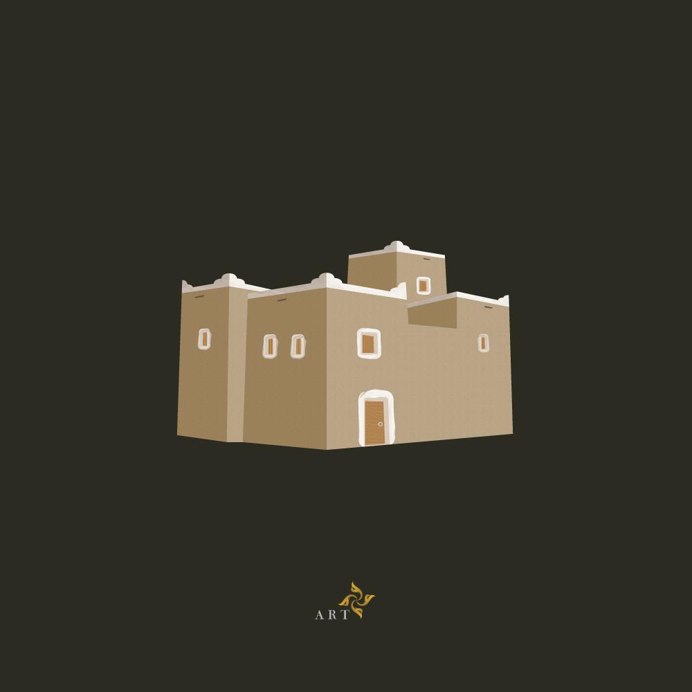 O Xrhsths Wael Designer Sto Twitter رسم بيت طين اتمنى يعجبكم