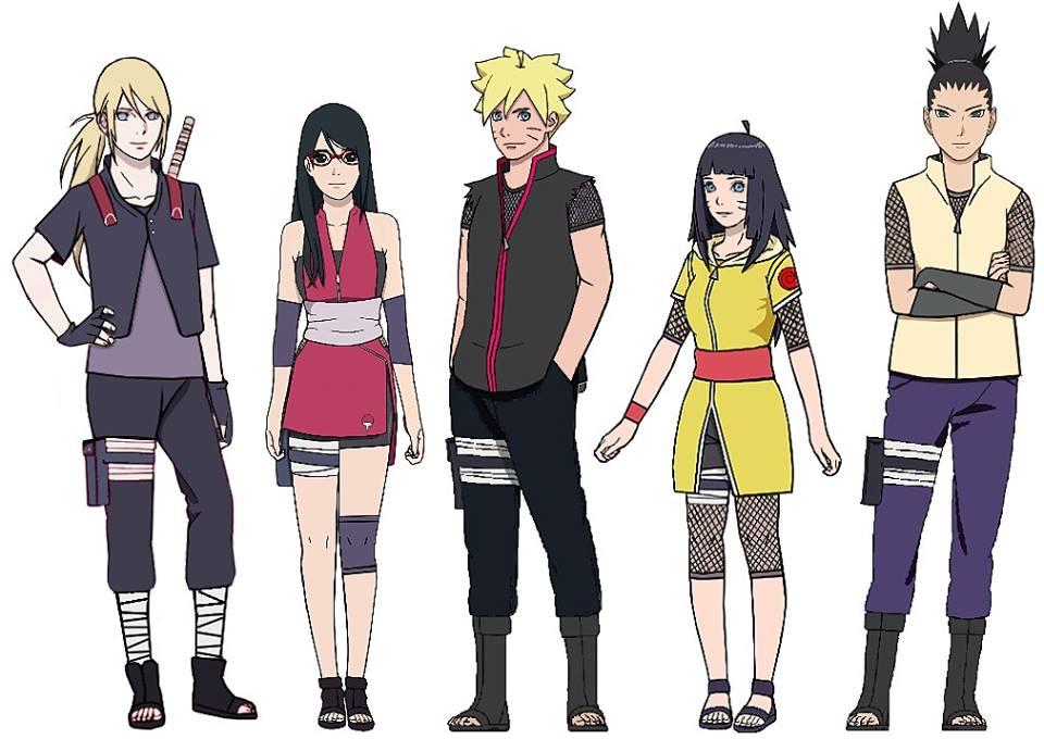 ナルト On Twitter New Generation Kids And I Think Their Outfits