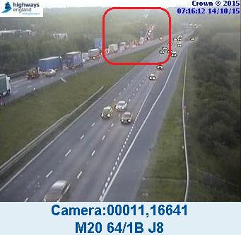 #M20 J8 - J9 coastbound now closed and traffic diverted. Further details and diversion here. http://t.co/gsUoR1VaEk http://t.co/YAmlxwMsaz