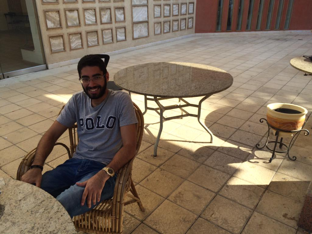 "Karim : ""The New York Times send me news updates as emails and I check Instagram for soccer news."" #JRMC2202 #JRLWeb http://t.co/uga9gKA1g4"