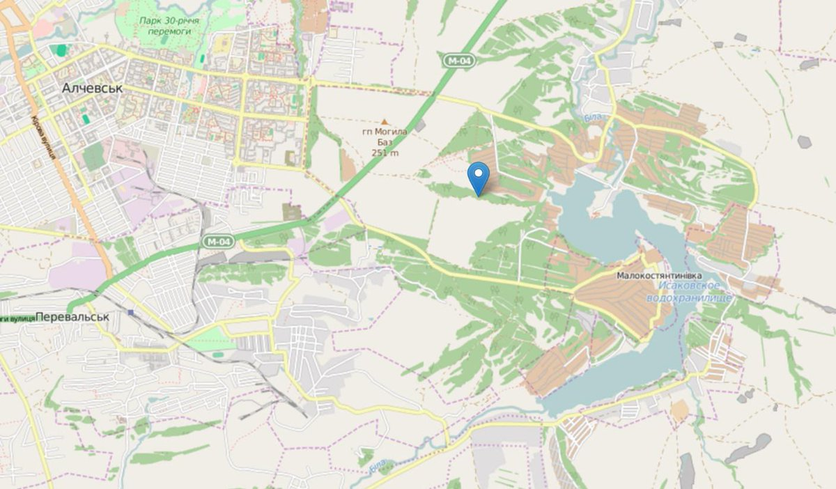 Liveuamap On Twitter Russian Militant With New Mortar Near - Alchevsk map