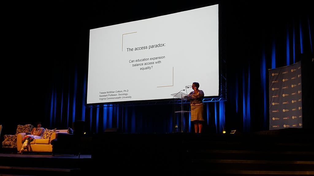 First keynote @tressiemcphd at #icdeunisa http://t.co/xWjdVxUz8O