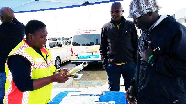 Our #driver and #pedestrian #roadsafety awareness event is taking place at #CT Station Deck http://ow.ly/Tnzeh